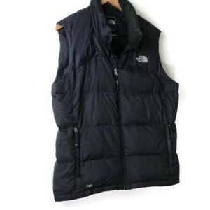 North Face  Black 700 Down Vest XL